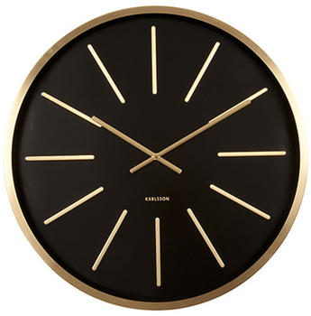 karlsson-ka5579bk-wall-clock-maxiemus-gold