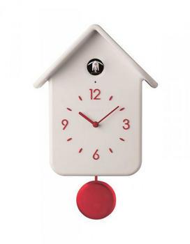 Guzzini Cuckoo Clock Pendulum White
