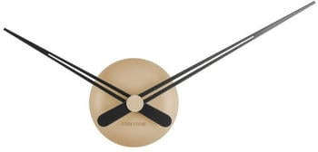 Karlsson Wall Clock Design Little Big Time 44 cm Beige