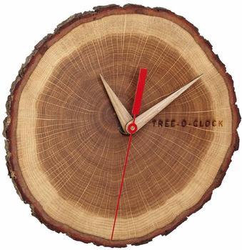 TFA Dostmann Wood Wall Clock (60.3046.08)