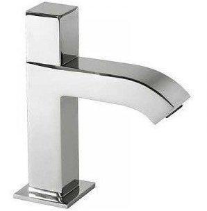 Tres Grifería 107503-Drei Armaturen-Waschbecken Wasser), Chrom, Nano Beschichtung