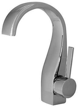 TSGPS Design Modern Bad Armatur Chrom Waschschale Waschtisch