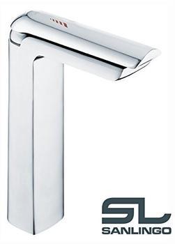 Sanlingo Design Bad Waschbecken Waschtisch Einhebel Armatur Wasserhahn Chrom Sanlingo Serie MIRO