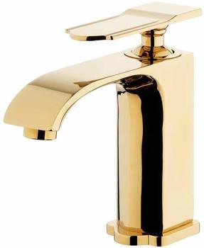 Sanlingo Badarmatur Einhebelmischer Mischbatterie Waschtischarmatur Gold Sanlingo