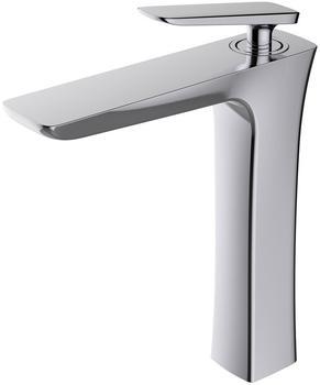 Sanlingo Waschbecken Waschtischarmatur Armatur Wasserhahn Mischbatterie Einhebelmischer Chrom Serie Emil Sanl