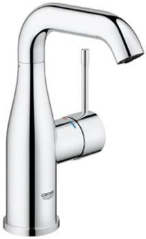 GROHE Essence Einhand-Waschtischbatterie mit schwenkbarem Auslauf, M-Size mit Push-Open-Ablaufventil, chrom 23798001