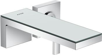 Axor MyEdition Einhebel-Waschtischmischer Unterputz für Wandmontage mit Auslauf 221 mm Chrom/Spiegelglas (47060000)