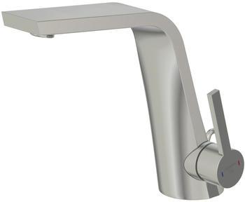 Steinberg Serie 260 Waschtisch-Einhebelmischer mit Ablaufgarnitur Brushed Nickel (2601000BN)