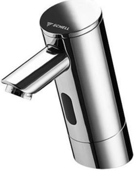 Schell Elektronische Waschtisch Armatur PURIS E Kaltwasser mit Steckernetzteil ohne Ablaufgarnitur 012120699