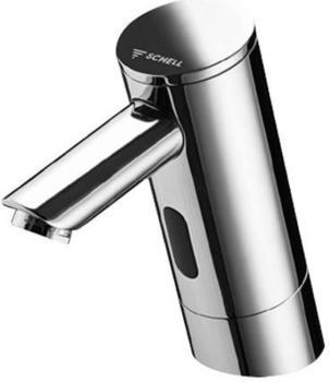 Schell Elektronische Waschtisch Armatur PURIS E Kaltwasser 9 V Typ HD-K, Batteriebetrieb ohne Ablaufgarnitur 012250699