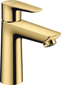 Hansgrohe Einhebel-Waschtischmischer Talis E 110 CoolStart mit Zugstangen-Ablaufgarnitur Polished Gold (71713990)