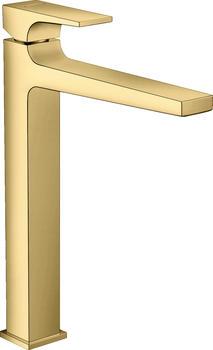 Hansgrohe Einhebel-Waschtischmischer Metropol 260 mit Push-Open-Ablaufgarnitur Polished Gold (32512990)