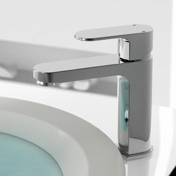 Treos Treos Serie 173 Einhebel-Waschtischarmatur mit nicht verschließbarer Ablaufgarnitur (173.01.1036)