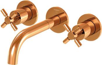 Steinberg Serie 250 3-Loch-Waschtischarmatur 195mm ohne Ablaufgarnitur rosegold (2501902RG)