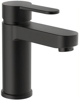 Schütte Elephant Einhebel-Waschtischarmatur 157mm mit Pop-Up-Ablauf schwarz-matt (34216)
