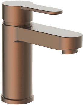 Schütte Elephant Einhebel-Waschtischarmatur 157mm mit Pop-Up-Ablauf kupfer