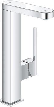 GROHE Plus Einhand-Waschtischbatterie L-Size 120mm mit Push-Open-Ablaufgarnitur und LED-Anzeige chrom (23959003)