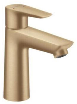 Hansgrohe Talis E 110 Einhebel-Waschtischmischer 112mm ohne Ablaufgarnitur bronze gebürstet (71712140)