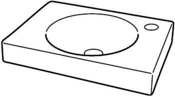Geberit Preciosa II 40x28cm rechts KeraTect (273240600)