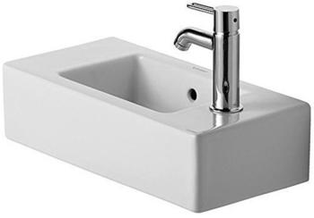 Duravit Vero 50x25cm vorgestochen weiß (0703500000)