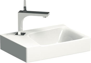 Keramag Xeno² Handwaschbecken 40 x 28 cm (mit Hahnloch links, ohne Überlauf, ohne KeraTect)
