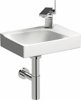 Keramag Xeno² Handwaschbecken 40 x 28 cm (mit Hahnloch rechts, ohne Überlauf, mit KeraTect)