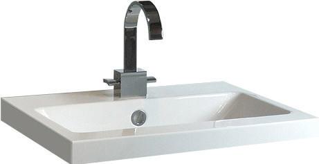 Alape Aufsatzbecken AB.R 58,5 x 40,5 cm (AB.R585H.1)