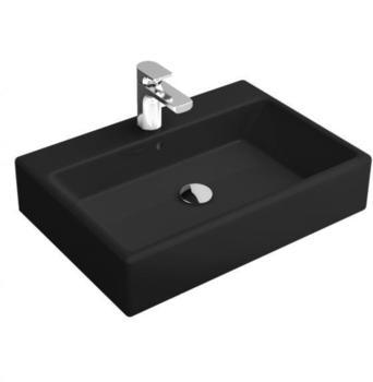 Villeroy & Boch Memento 50 x 42 cm Glossy Black CeramicPlus (513550S0)