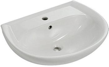 Keramag Renova Nr. 1 Handwaschbecken 50 x 38 cm (mit Hahnloch, mit Überlauf)