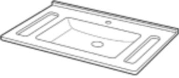 Keramag Privo Waschtisch 70 x 55 cm (402170)