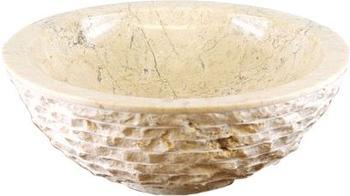 Dilego Steinwaschbecken Ø 40 cm creme/sand (HF55706)
