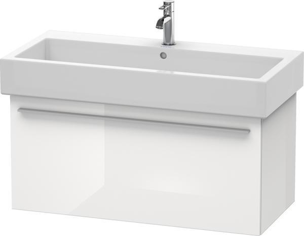 Duravit X-Large Waschtischunterbau für Vero Waschtisch 100 cm X-Large B: 95 T: 44,3 H: 44,8 cm weiß hochglanz dekor
