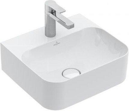 Villeroy & Boch Finion Handwaschbecken Eckig 43x39cm (43644C)