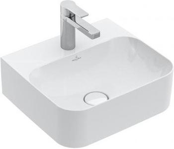 Villeroy & Boch Finion Handwaschbecken Eckig 43x39cm (436443)