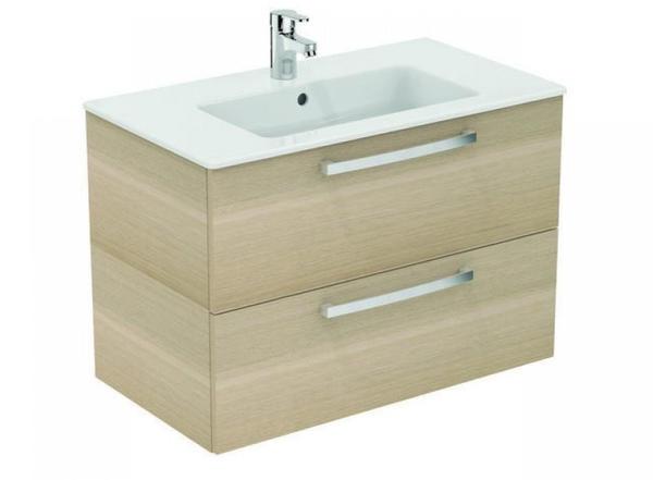 Ideal Standard Eurovit Waschtisch/Möbel-Paket, 815 x 450 x 565 mm, eiche anthrazit K2978SG