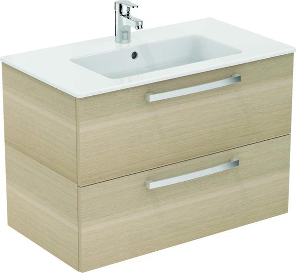 Ideal Standard Eurovit Waschtisch/Möbel-Paket, 815 x 450 x 565 mm, eiche hell K2978OS