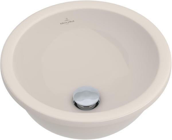 Villeroy & Boch Loop & Friends Unterbauwaschtisch 33 cm pergamon ceramicplus
