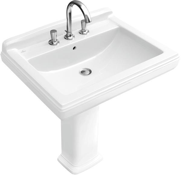Villeroy & Boch Hommage 75 x 58 cm Weiß Alpin CeramicPlus (710175R1)