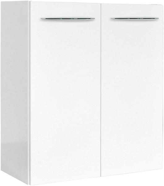 Fackelmann Vadea 52cm weiß hochglanz weiß glänzend (83853)