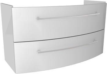 Fackelmann Lino Waschtisch-Unterschrank Farbe WeißWeiß Breite 106,5cm