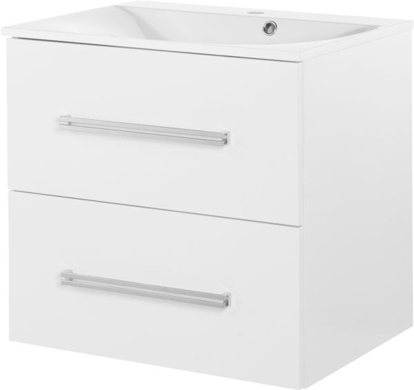 Fackelmann Como 59,5cm weiß glänzend weiß glänzend (73813)