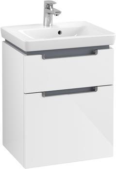 Villeroy & Boch Subway 2.0 Waschtischunterschrank, 485 x 590 x 380 mm, glossy white (A90710DH)