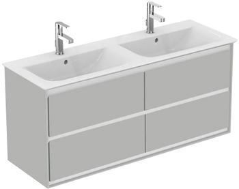 Ideal Standard Doppelwaschtisch Connect Air (1-St), 4 Auszüge grau