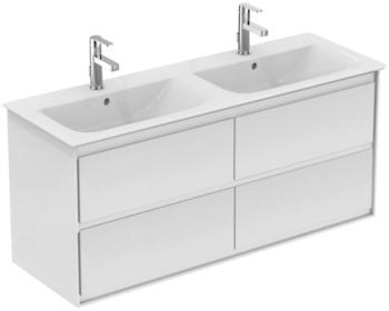 Ideal Standard Doppelwaschtisch Connect Air (1-St), 4 Auszüge weiß