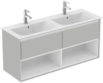 Ideal Standard Doppelwaschtisch »Connect Air« (1-St), 2 Auszüge, 2 Fächer grau