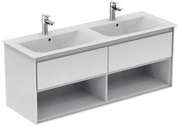 Ideal Standard Doppelwaschtisch »Connect Air« (1-St), 2 Auszüge, 2 Fächer weiß
