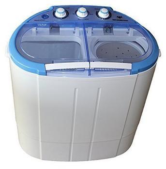 D&S Mini Waschmaschine blau