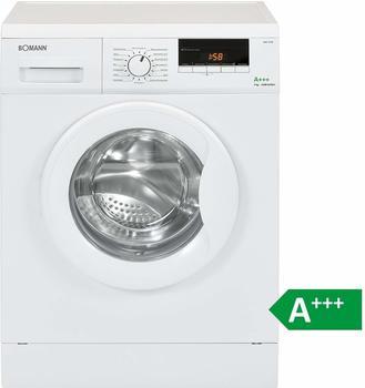 Bomann WA 5729 Waschmaschine FrontladerEEK A+++7 kg16 Programme1400 UpMLED-DisplaySchaumregulierungweiß