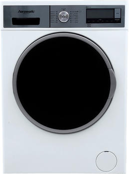 Hanseatic Waschmaschine HWM 914 A3D, 9 kg, 1400 U/Min silberfarben