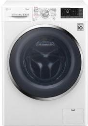 LG FT W9 Ats2, Waschmaschine, weiß/schwarz